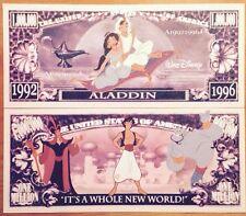 Disney Aladdin Million Dollar Bill