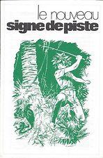 Encart catalogue Nouveau Signe de piste DT104 Joubert Forget Scout Alsatia EPI