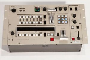 """Vintage 1980""""s SONY SEG-2000  Switcher with effect wipes requires Gen Lock."""
