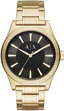 Men's Armani Exchange Nico Gold Tone Steel Link Watch AX2328