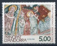 TIMBRE ANDORRE FRANCE NEUF N° 375  * fresque romane eglise d andorre la vieille