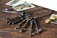 Antique Skeleton Keys Skeleton Key Lock Old Fashioned Keys Large Rusty Keys