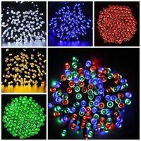 Solar Powered 100 200 LEDs String Fairy Tree Light Outdoor Wedding Party Xmas i