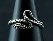 Bague de pied orteil ajustable- Serpent Cobra -Bijou Argent massif 925 W85 272