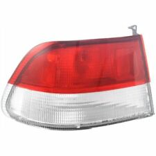 For Civic 99-00, Driver Side Tail Light, Clear and Red Lens