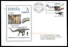 Spain dinosaur 2017 dinosaure dinosaurios Custom Stamp-only 5 cover made! cm45