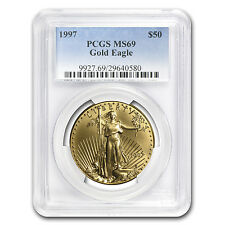 1 oz Gold American Eagle MS-69 PCGS (Random Year) - SKU #83483