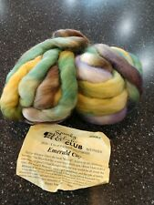 Spunky Eclectic Hand Dyed Hand Spinning Fiber