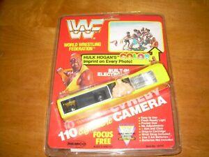 Vintage Remco WWF Hulk Hogan Wrestling Color Camera Collectible RARE NEW SEALED