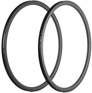 30mm Carbon Rims 16/18/20/21/24/28 Holes Bike Rim Carbon Clincher 25mm Wide Rims