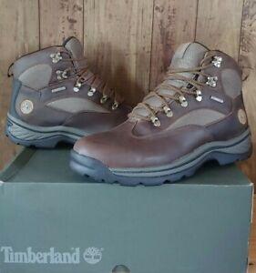 Timberland Mens Chocorua Trail WP Hiking Boots Size 11.5 M Brown/Green 15130