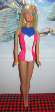 1975 VERY RARE GOLD METAL BARBIE DOLL~US OLYMPIC~7233~ORIGINAL OUTFIT~Nr.MINT~LE