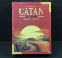 Catan 5-6 Player EXTENSION 5th Edition Game Studio CN3072 Base Core EXPANSION