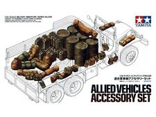 Tamiya 35229 1/35 Scale Military Model Kit WWII Allied Vehicles Accessories Set