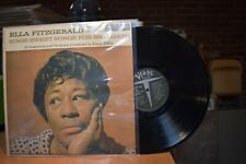 Ella Fitzgerald Sings Sweet Songs for Swingers LP Verve MG V-4032 Mono