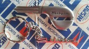 BRAND NEW UNCUT TITANIUM KEY for NISSAN SILVIA S14 S13 89-98 GZA 240SX JDM NISMO