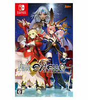 FATE EXTELLA Nintendo Switch NS 2017 Multi-Languages Factory Sealed