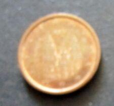 1 Cent Euro-Münze Spanien Prägejahr 2011 aus Umlauf Sammlerstück