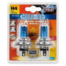 LAMPADA ALOGENA BLU-XE 12V - H4 - 60/55W - P43t - 2 PZ   LAMPA