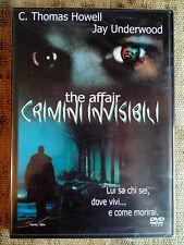 The Affair Crimini invisibili-  DVD NUOVO SIGILLATO