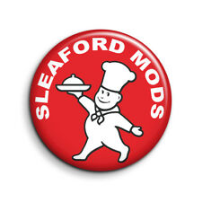 SLEAFORD MODS, LITTLE CHEF 25mm Button Badge. FREE POST