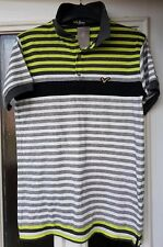 Voi Jeans Mens Polo T-Shirt - Striped - Size Medium - NEW WITH TAGS