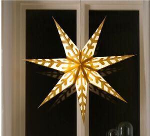 IKEA Strala Leuchte Stern Tischleuchte Fensterleuchte LED 40cm 604.430.71 NEUOVP