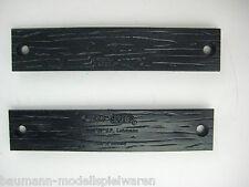 LGB Ersatzteil - schwarze Abdeckung(2) f. Bleigewicht, Waldbahntruck ( 40770)