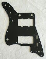 Custom Guitar Pickguard For Japan Jazzmaster Scratch Plate,3 Ply Black