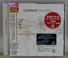 COLDPLAY LIVE 2003. JAPAN CD. MINT CONDITION. NEVER BEEN PLAYED.