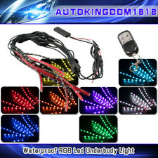 18 Color Wireless Sound Rgb Smd 5050 Vengeance Redneck Motocycle Led Light Kit (Fits: The American)
