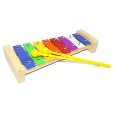 Colourful 8 Notes Xylophone for Kids with Plastic Mallet, Musical Instrument Toy