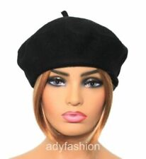 Better Quality 100% Wool Beret Thick Heavier Fabric Woolmark Ladies Womens Hat