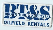 BT&S Brown Tool & Supply Co (oilfield Rentals) Angleton TX patch 2-1/2 X 4-3/4