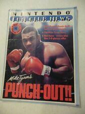 1987 Nintendo Power Fun Club News Magazine Vol. 1 #4 Winter Mike Tyson Punch Out