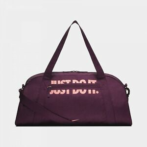 Nike Gym Club Bordeaux/Storm Pink Training Duffel Bag (BA5490-609)  - NWT