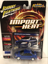 2004 Mitsubishi Lancer Evo Blue By You 1:64 Johnny Lightning JLSF010A