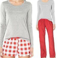 Calvin Klein Women's Comfort Fleece Sleep 3-Piece Pajama Set