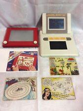 Etch A Sketch Vintage 505 & Animator 2000, bonus games/puzzles
