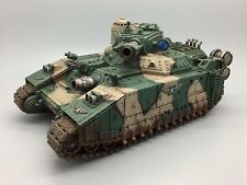 WARHAMMER 40,000 40K PAINTED IMPERIAL GUARD HELLHAMMER SUPER HEAVY BATTLE TANK