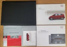 GENUINE AUDI A2 HANDBOOK OWNERS MANUAL WALLET 1999-2005 PACK D-694 !
