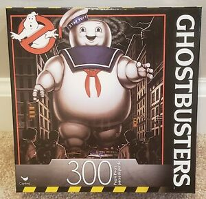 """GHOSTBUSTERS Stay Puft Marshmallow Man 300pc Puzzle by Cardinal 18"""" x 24"""" NEW"""