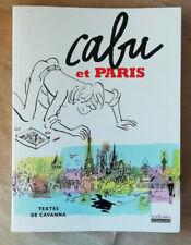 CABU et Paris Texte CAVANNA éd Hoëbeke 2006