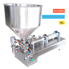 100-1000ml Automatic Filling Machine for Honey Cream Cosmetic Sauce Tooth Paste
