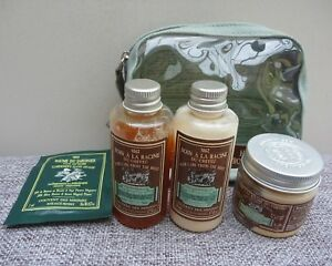 Le Couvent Des Minimes Hair Care Travel Set, Shampoo + Conditioner + Mask, BNIB
