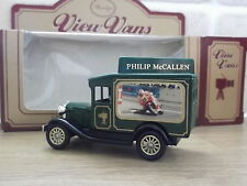 Lledo Stevelyn View Van, Model A Ford, Philip McCallen, Isle of Man TT in Green