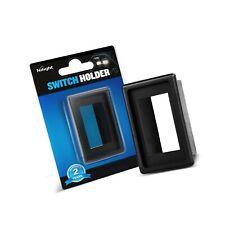 New listing Nilight 90011A 1Pcs Led Light Bar Rocker Panel Holder Kit Abs Plastic Black A.