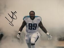Jurrell Casey Signed Autographed Tennessee Titans 8x10 Photo Coa