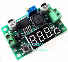 2PCS DC-DC Buck Step Down Converter LM2596 Voltage Regulator Red Voltmeter