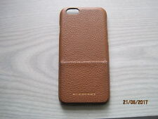 Burberry brown iphone case